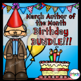 Theodor Geisel Birthday MEGA Bundle Companion Writing Literacy Math Centers