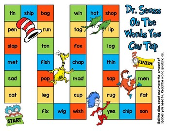 Dr. Seuss Board Game