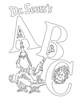 dr seuss book cover coloring pagesmckenzie sigle  tpt