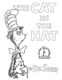 Dr. Seuss Book Cover Coloring Pages