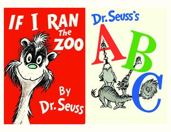 It is a photo of Dynamic Printable Dr Seuss Books