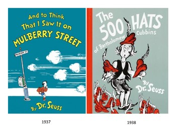 Dr.  Seuss Book Covers