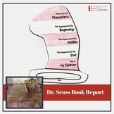 Dr. Seuss Book Report - Lift the Flap Template