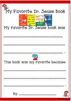 Dr. Seuss Book Review