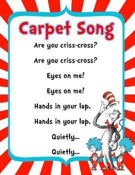 Dr. Seuss Carpet Song