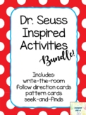 Dr. Seuss Cat In The Hat Inspired Activity Bundle Read Across America
