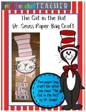 "Dr. Seuss ""Cat in the Hat"" Craft - Paper Bag Puppet"