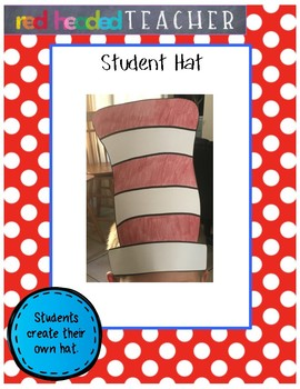 """Dr. Seuss """"Cat in the Hat"""" Craft - Student Hat"""