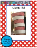 "Dr. Seuss ""Cat in the Hat"" Craft - Student Hat"