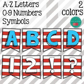Dr Seuss Activities - Bulletin Board Letters