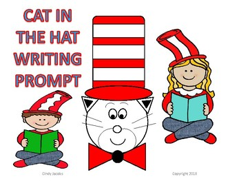 Dr. Seuss Cat in the Hat Writing Prompt Narrative Writing Art Project