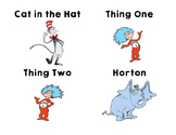 Dr. Seuss Character Cards