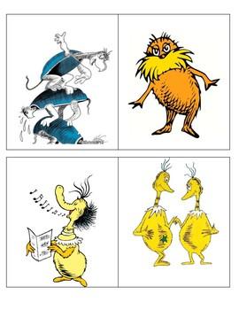 Dr. Seuss Character Decorations