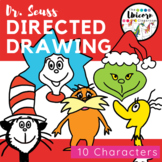 Dr. Seuss Character Directed Drawings