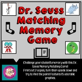 Dr. Seuss Character Matching Memory Game