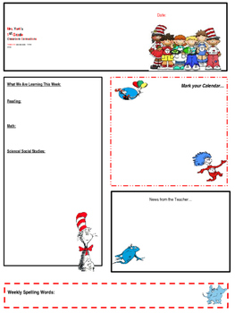 original-2637066-1 Free Editable Teacher Subjects Newsletter Templates on april preschool, for preschool, for elementary, preschool december,