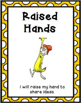 Dr. Seuss Class Rules
