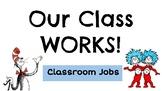 Dr. Seuss Classroom Jobs