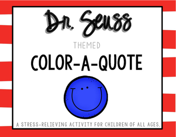 Dr. Seuss Color-A-Quote