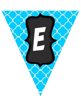 Dr. Seuss Inspired Editable Pennant Banners
