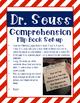 Dr. Seuss Comprehension Flip Book Freebie