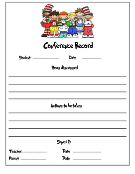 Dr Seuss Conference Record