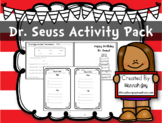 Dr. Seuss Contractions Activity AND MORE!