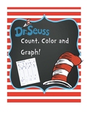 Dr. Seuss Count, Color and Graph