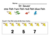 Dr. Seuss Counting