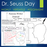 Dr. Seuss Day Biography Graphic Organizer Journal