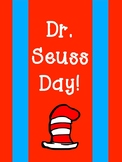 Dr. Seuss Day - Class Set of THING Decals