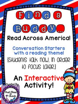 Read Across America (Find A Buddy)