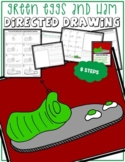 Dr. Seuss' Day GREEN EGGS AND HAM Directed Drawing & Writing Prompts