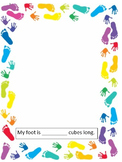 """Dr Seuss Day """"The Foot Book"""" Activity"""