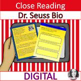 DIGITAL DR. SEUSS INFORMATIONAL TEXT & DISCUSSION QUESTION