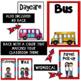 Dismissal Chart Whimsical Theme ~ Editable