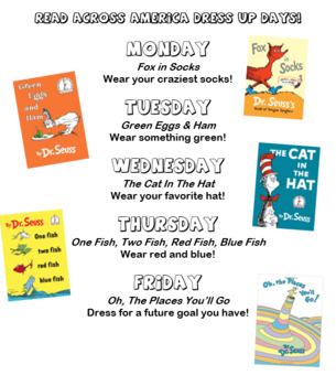 Dr. Seuss Dress Up Days