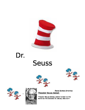 Dr. Seuss Educational Packet