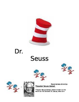 Dr. Seuss Educational Packet