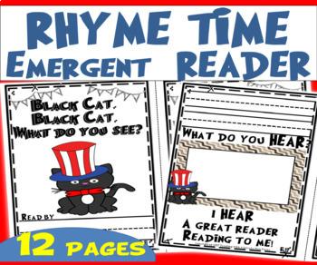 RHYME TIME Emergent Reader Dr. Seuss