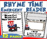 RHYME TIME Emergent Reader