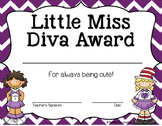 Dr Seuss End of the Year Awards