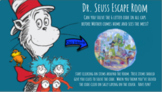 Dr Seuss Escape Room - Interactive Distance Learning - Fun