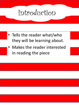 Dr. Seuss Expository Writing