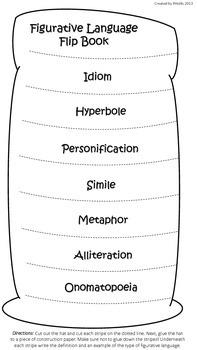 Dr. Seuss Figurative Language Flip Book