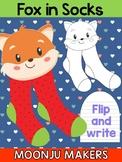 Dr. Seuss Fox in Socks Craft - Moonju Makers, Activities, Writing