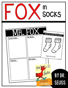 fox in socks writing prompt