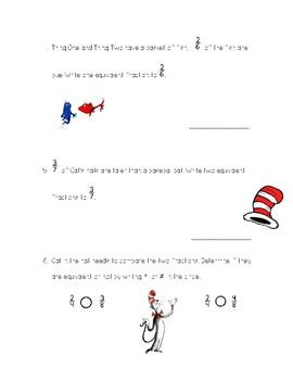 Dr. Seuss Fractions
