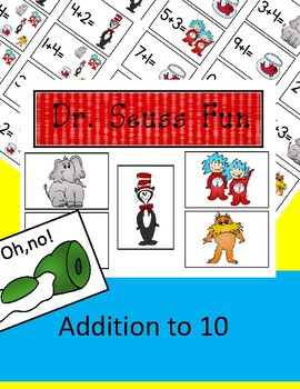 Dr. Seuss Fun - Addition to 10