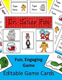 Dr. Seuss Fun Game EDITABLE